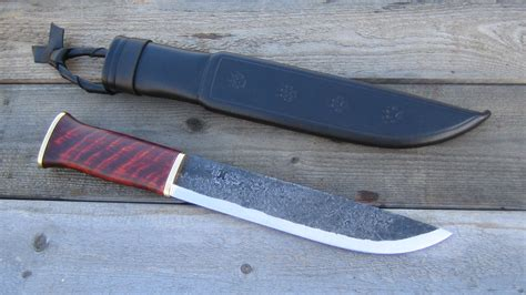 Tom Handcrafted Knives - 1000 images about kniver on toms skinning