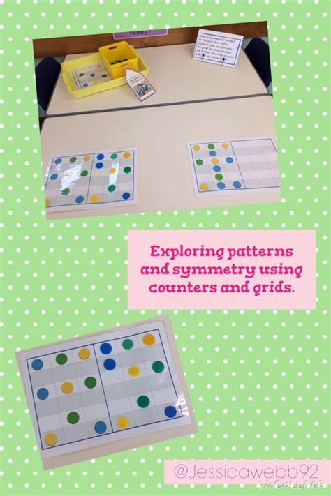 ssm pattern in math exploring symmetry and patterns using counters and grids