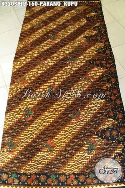 Dress Batik Wanita 3203 produk terbaru kain batik motif parang kupu batik halus