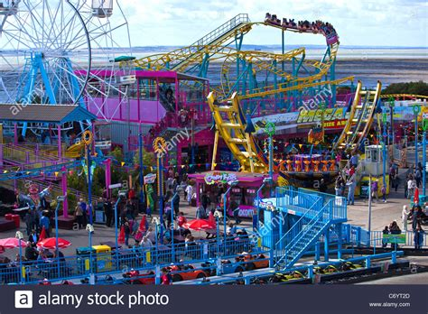 Theme Park Adventure   adventure island amusement park at southend on sea stock
