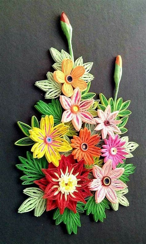 Paper Quilling Flower - 3532 best images about quilling plants and flowers