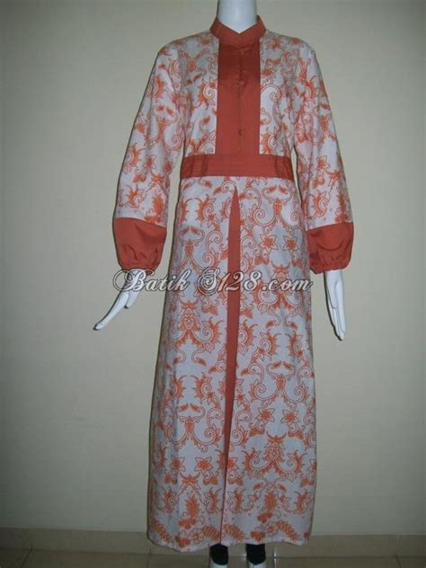 Baju Batik Tanah Abang Koleksi Baju Gamis Batik Murah Modern Trendy Dan Keren
