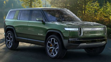 electric rivian pickup  suv  charge consumer reports