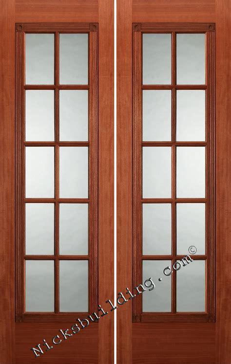 mahogany interior doors 1 panel