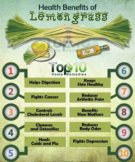 Top 10 Health Benefits of Lemongrass | Top 10 Home Remedies Lemongrass Benefits Cancer