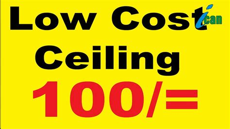 Low Cost Mba In Sri Lanka by Low Cost Ceiling Srilanka