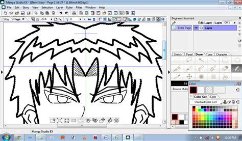 tutorial warnain rambut tutorial menggambar simple menggunakan manga studio ex4