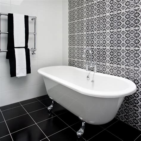Images Of Black And White Bathrooms by Black And White Bathroom Designs Ideal Home