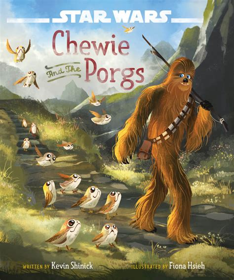 wars the last jedi chewie and the porgs books wars the last jedi s lovable porgs are fans newest