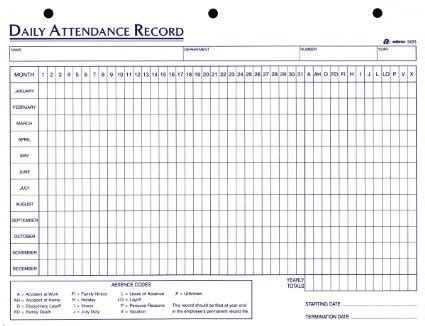 Employee Attendance Sheet Excel 2018 Tracker System Calendar Office Calendar For Attendance Tracking Calendar Template 2018