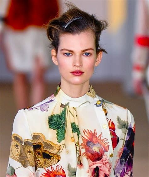 Floral Prints The Terrier And Lobster Preen Fall 2012 Floral Prints