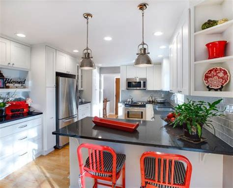 accent color for white and gray kitchen modern kitchen paint colors pictures ideas from hgtv