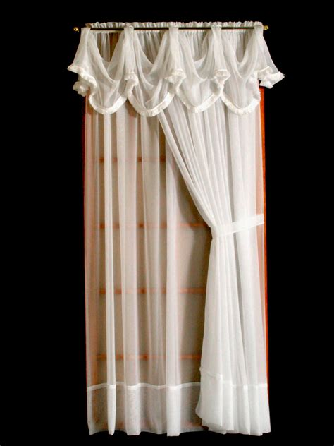 french voile curtain panels french voile window panels