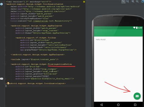 android support annotations android support design widget floatingactionbutton vs org