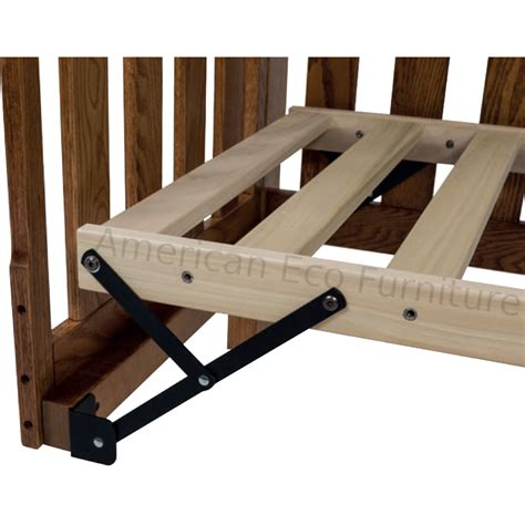 Mattress Support For Crib Pacifica Convertible Baby Crib Made In Usa Solid Wood American Eco Furniture