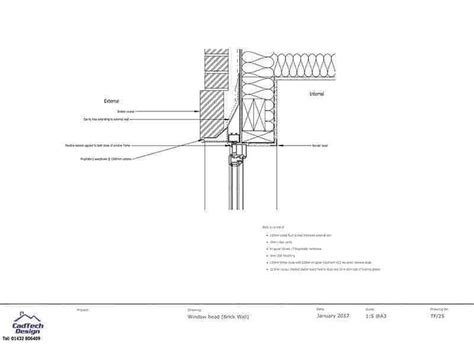 Sketches A Corrugated Bulkhead by Window Detail In Brick Wall Drawing Houseplansdirect