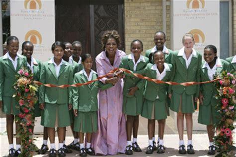 Oprah Opens Second School In Africa by Oprah Winfrey Opens School For In South Africa