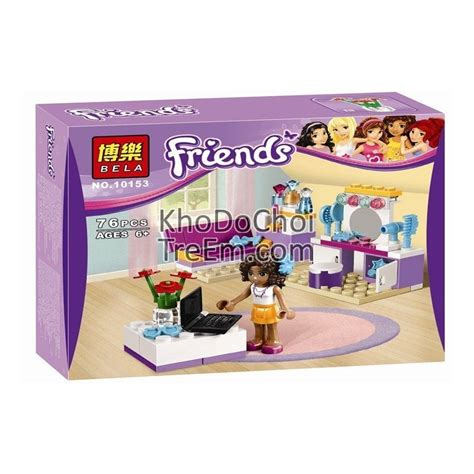 Mainan Lego Bela Friend 10153 lego friends 41009 bela 10153 andrea s bedroom xếp h 236 nh