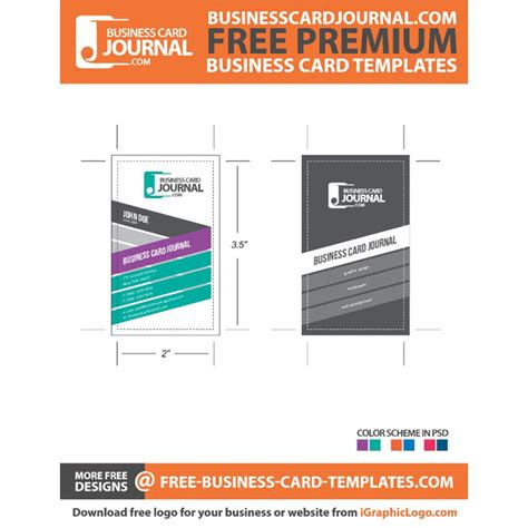 premium business card template download at vectorportal