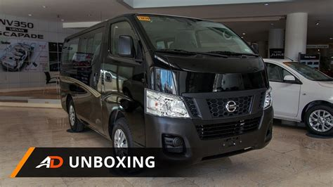 nissan urvan escapade modified nissan nv350 urvan escapade super elite autodeal unboxing