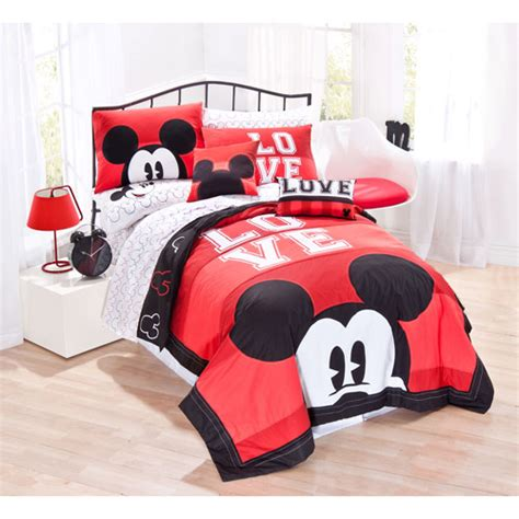 Mickey Mouse Bed Sets Disney Mickey Mouse Classic Bedding Quilt Set Walmart