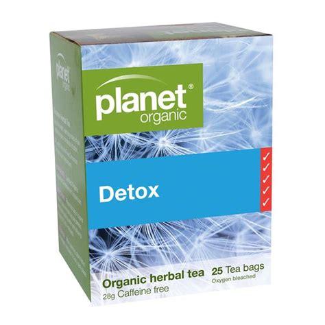 Planet Organic Detox Tea Benefits by Detox 25 Bags