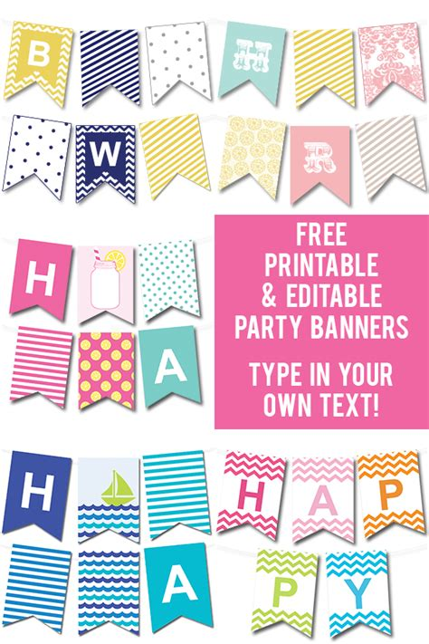 free printable alphabet flag banner 50 gorgeous free wall art printables free printable