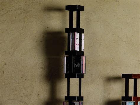 porta cd girevole porta cd girevole tower b in acciaio verniciato o ruggine