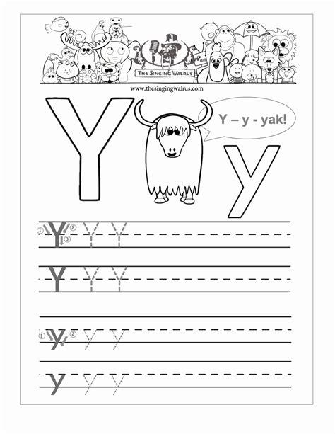 sle of kindergarten writing printable letter y worksheets kindergarten printable