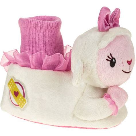 sock top slippers toddlers doc mcstuffins s toddler sock top slipper baby