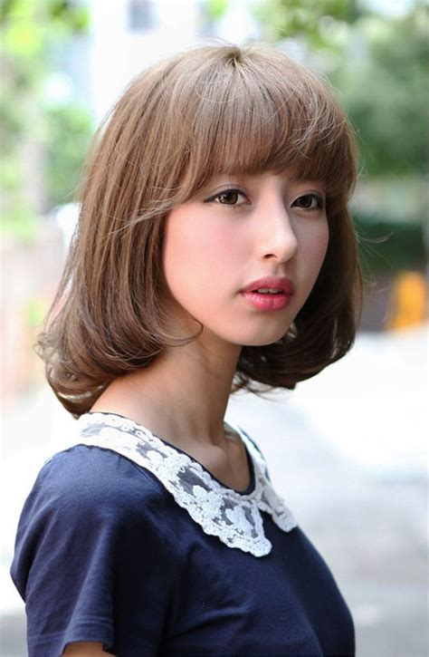 japanese hairstyles pictures of cute japanese bob hairstyle for girls