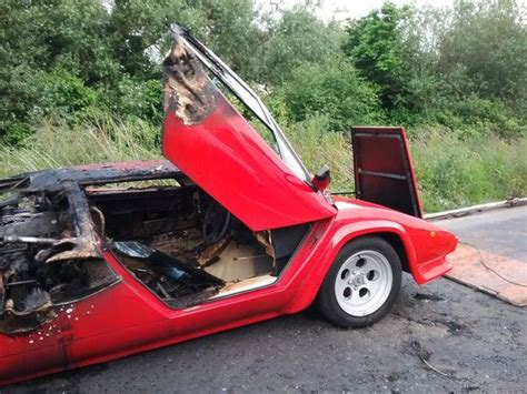 Wrecked Lamborghini by Wrecked Lamborghini 5 Pics