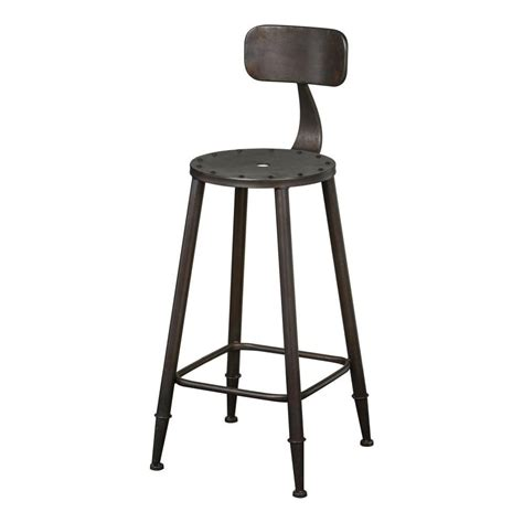 Bar Stool Warehouse by Buy Grey Metal Warehouse Style Bar Stool From Fusion