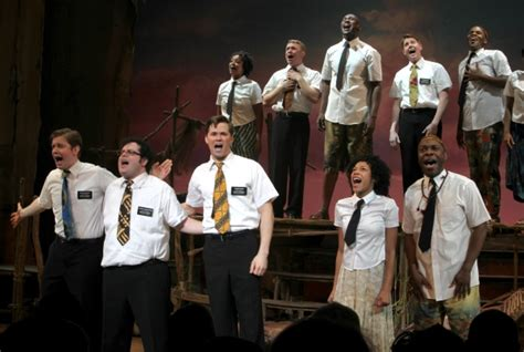 the mormon curtain photo coverage the book of mormon opening night curtain call
