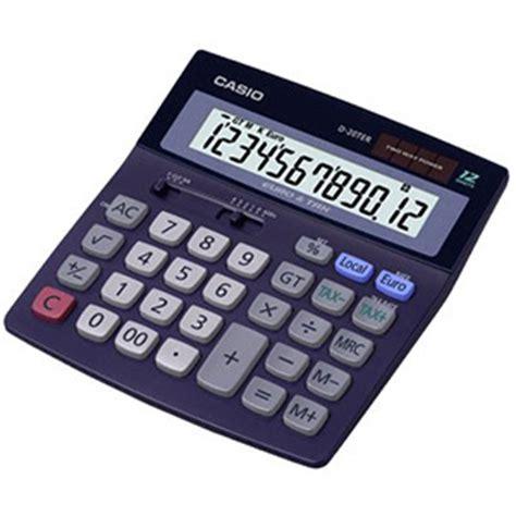 calcolatrice da tavolo calcolatrice da tavolo d 20ter casio dh 12ter ufficio