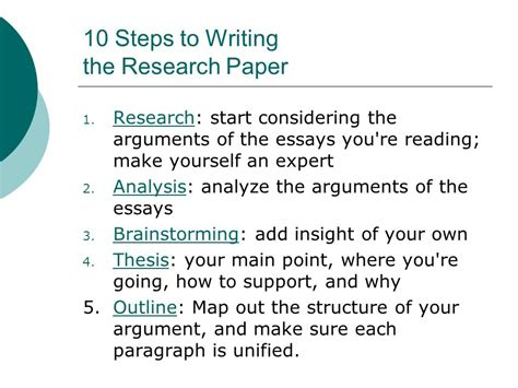 Steps In A Research Paper - resume writing services torrance ca negative critical