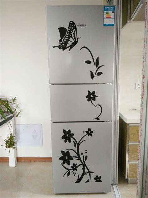 high quality creative refrigerator black sticker butterfly