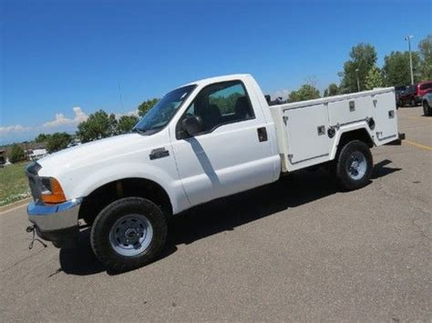 F250 Single Cab Bed by Find Used 2001 Ford F 250 Regular Cab Bed Utility