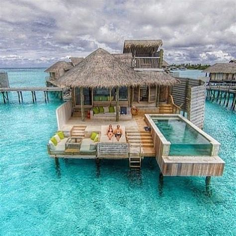 Beautiful Houses by Pin By Kalani Enos On Overwater Villas Pinterest