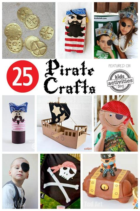 pirate craft ideas for 25 best ideas about pirate crafts on