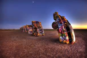 The Cadillac Ranch Amarillo 15 Only In America Sights You Ll See On A Route 66 Road Trip