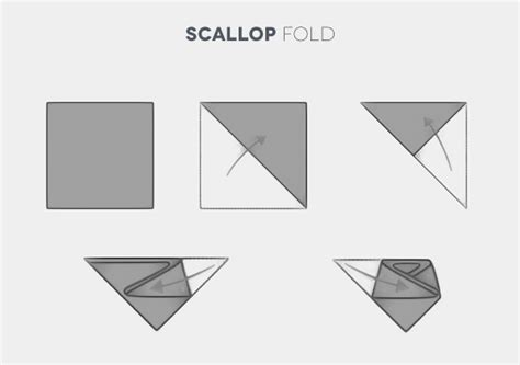 Scallop Fold how to fold and wear a pocket square a suit essential