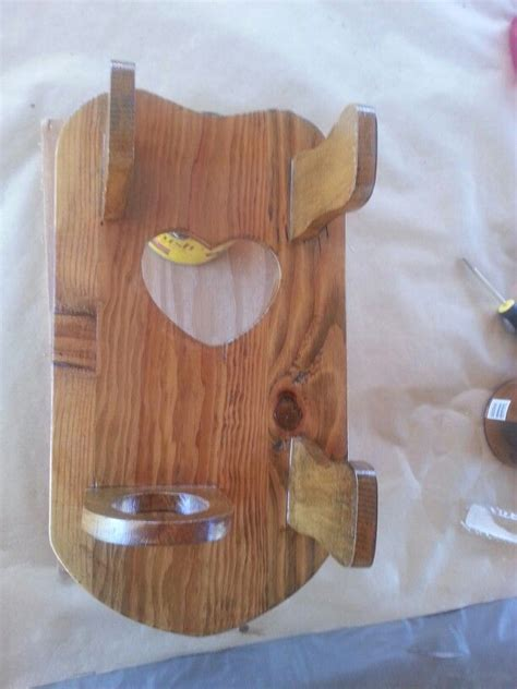 Diy Wall Mount Hair Dryer Holder 1000 images about wooden hair appliance holders on