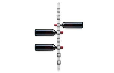 wall mounted wine bottle holder blomus wall mounted wine bottle holder