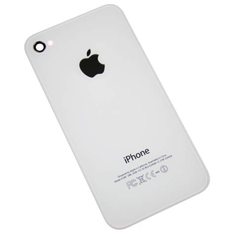 Iphone Backcover White 4 4s by Iphone 4s Rear Panel Back Cover Housing White