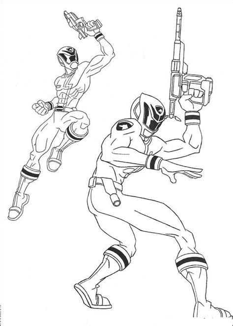 Power Rangers In Space Coloring Pages | free coloring pages of mega force power ranger