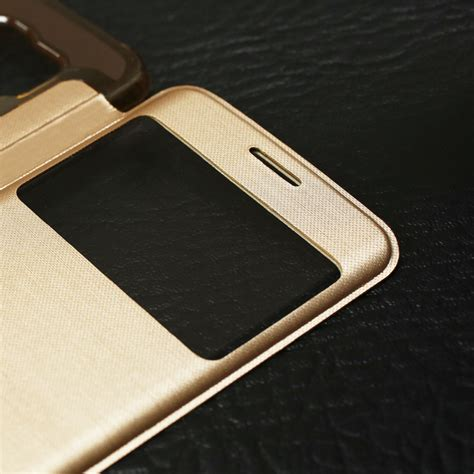 Viewer Superthin ultra thin view screen flip cover for samsung galaxy