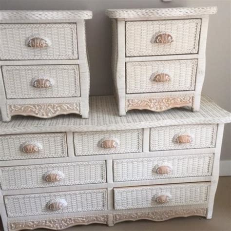 pier one wicker bedroom furniture white wicker dresser pier one bestdressers 2017