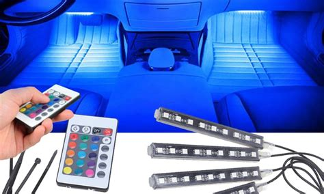 Auto Innenbeleuchtung auto innenraum ambient led beleuchtung groupon goods