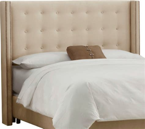 Contemporary Headboards Nate Berkus Velvet Wrap Upholstered Headboard
